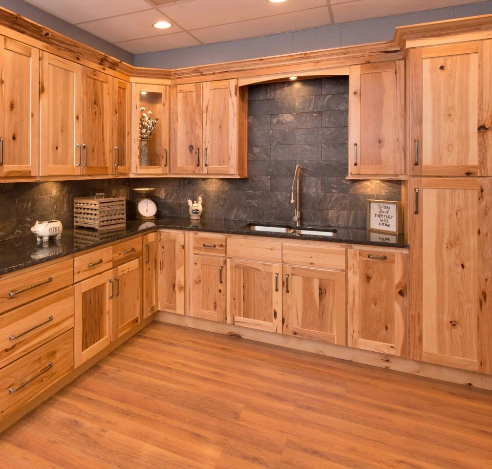 Carolina Hickory Kitchen Cabinets RTA Cabinet Store