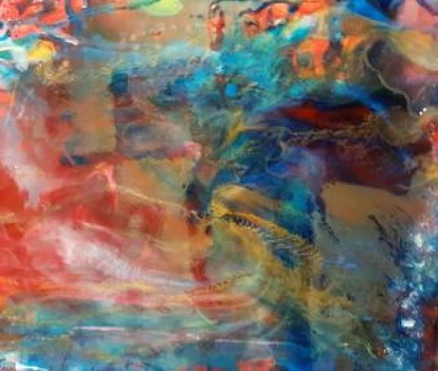 Saatchi Art Artist Karibou Artist Painting Resin Abstract Art Nature Picture