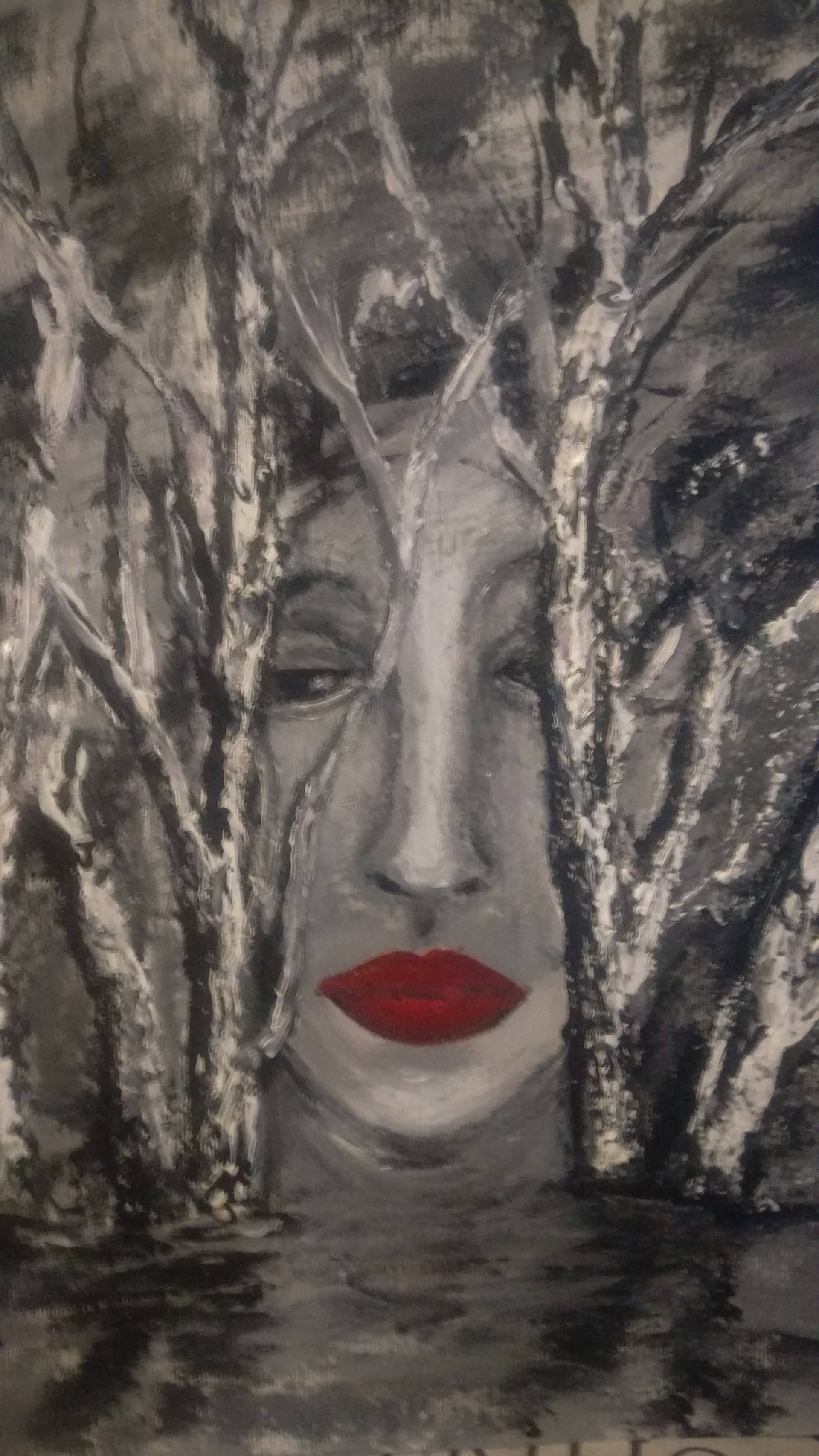 Risultati immagini per depression mother saatchi art