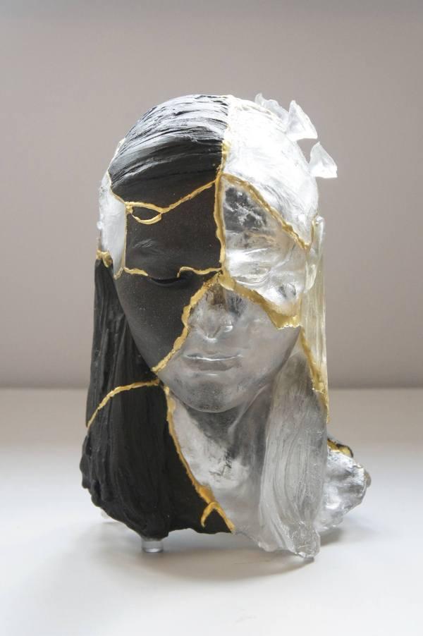 Saatchi Art Kintsugi Head 2 Sculpture Billie Bond