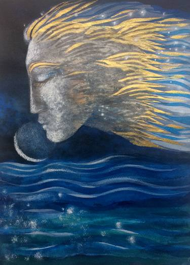 Image result for venus moon painting
