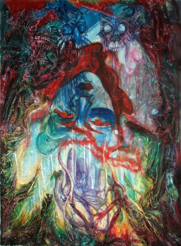 Saatchi Art Alice In Wonderland Painting By Safir Rifas