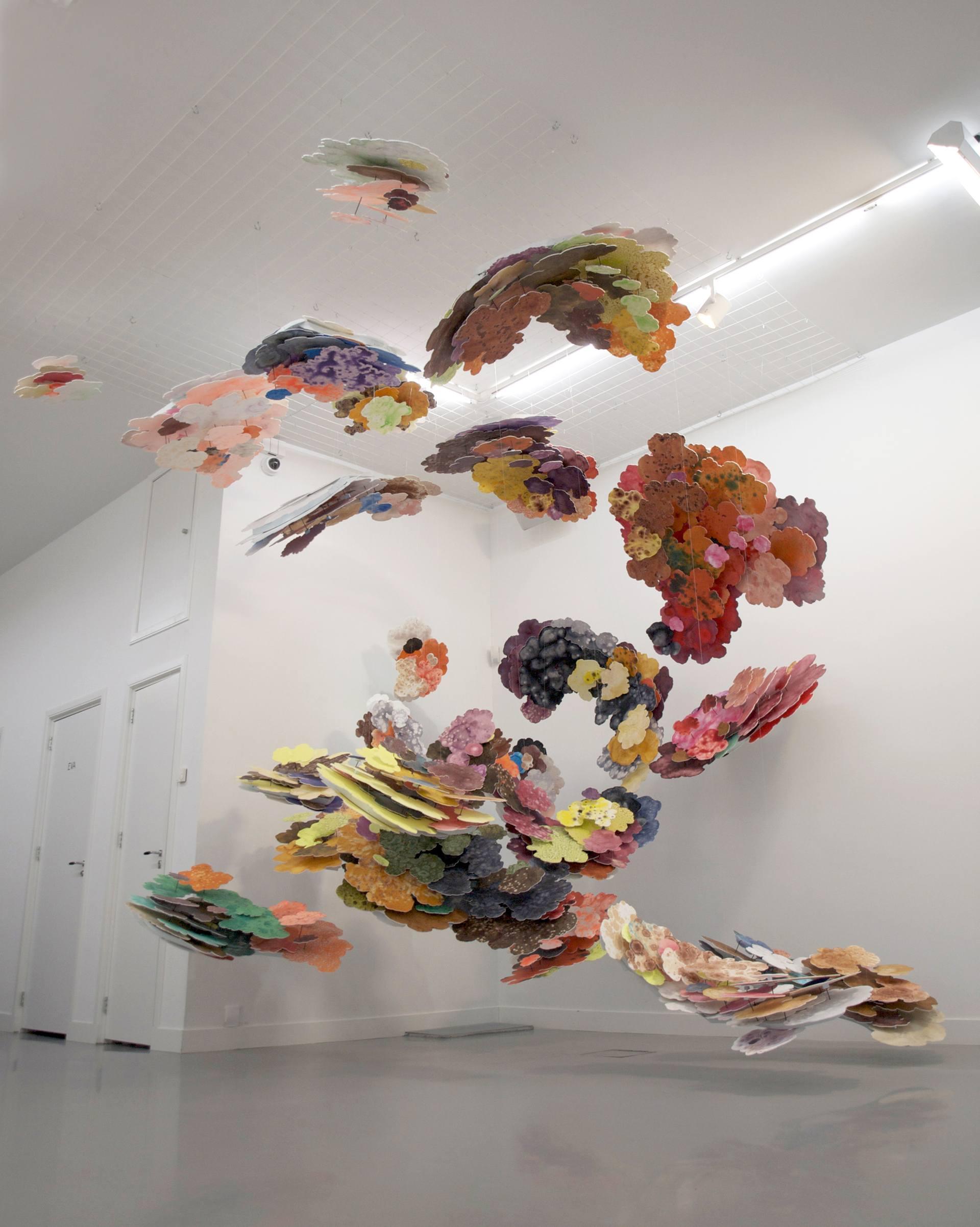 Suspended Art Installation Sculpture
