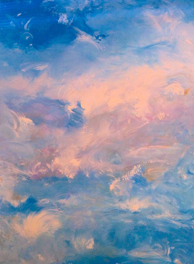 surreal sky Painting by Susan Anne Russell