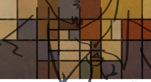 Saatchi Art Square Piet Mondrian - Special