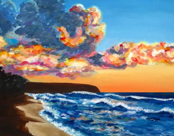 Kaena point Sunset beach North Shore Oahu Hawaii