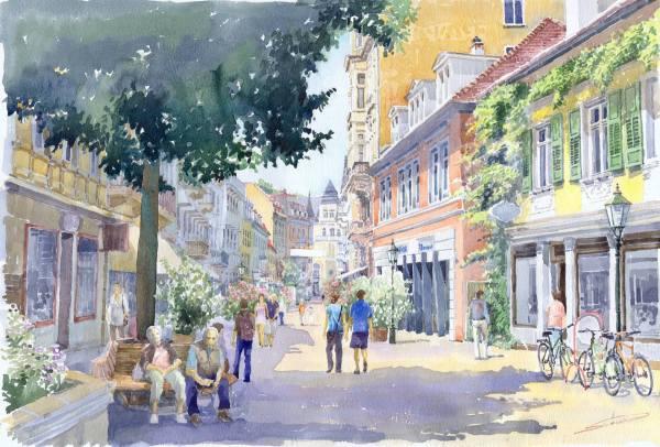 Yuriy Shevchuk Watercolor