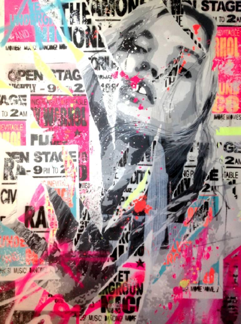 Risultati immagini per 2AM Paintings, 36 W x 48 H x 1.5 in Yannick Hamon United States