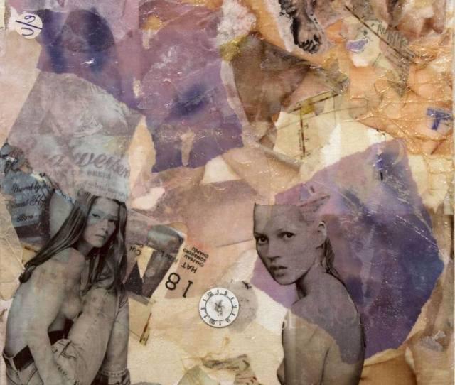 Saatchi Art Artist Trish Malcomess Collage Porn Fields Art