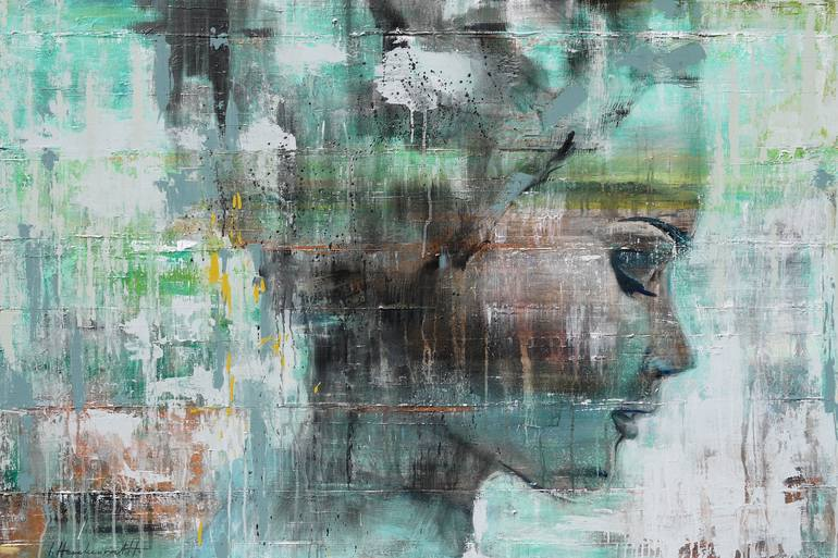 Saatchi Art Angie Painting by Ingeborg Herckenrath