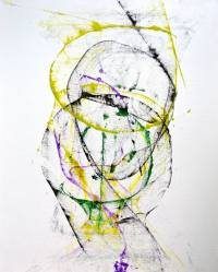 Saatchi Art: SALE Large abstract art contemporary black ...