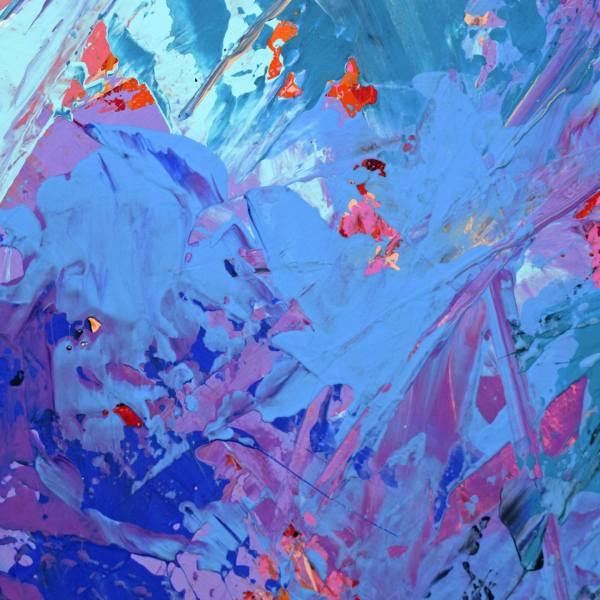 Original Face Abstract Painting Eugen Dick Saatchi Art