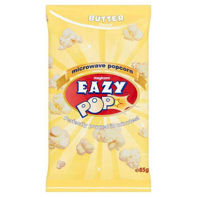 eazypop microwave popcorn butter 100g