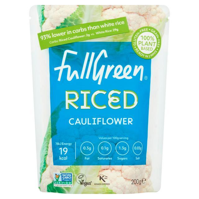 fullgreen riced cauliflower 200g