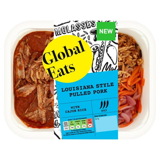 Global Eats Louisiana Bbq Pork 380g