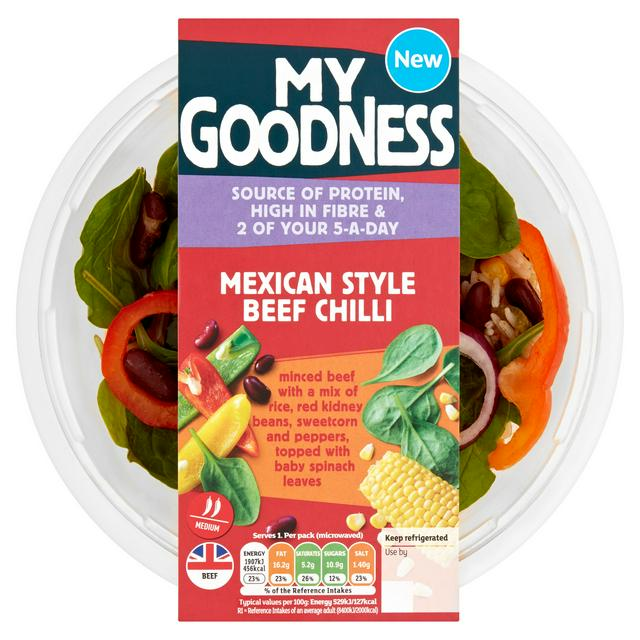 Sainsbury's My Goodness! Mexican Style Beef Chilli 380g