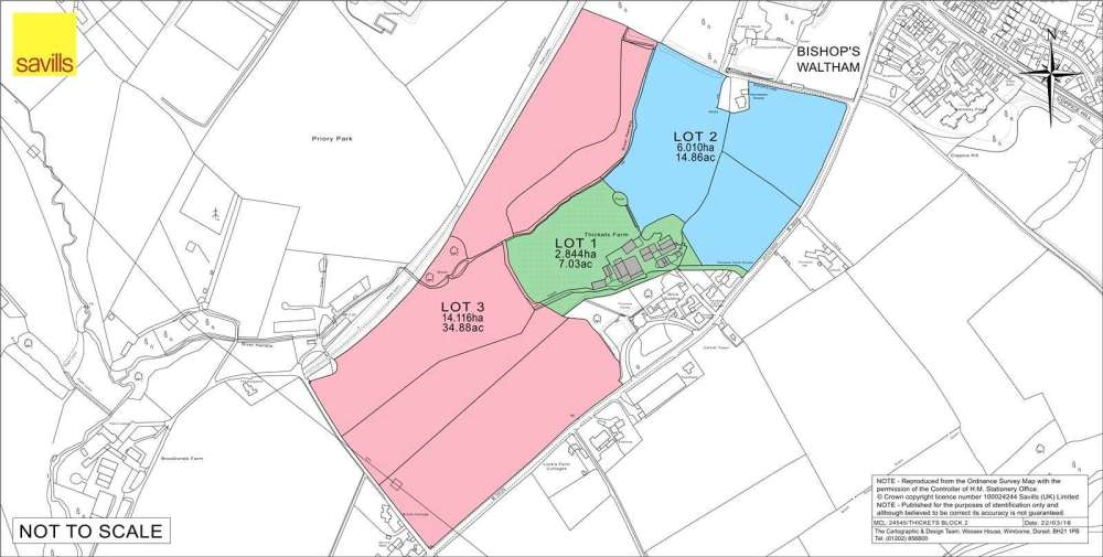 medium resolution of savills lot 1 thickets farm buildings botley road bishops waltham hampshire so32 1dr property for sale