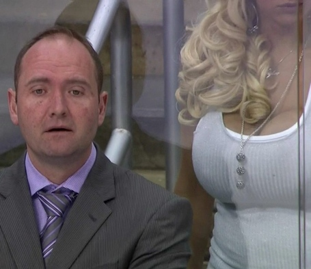Porn Star Distracts Devils Coach Sbnation Com