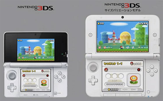 Side-By-Side Coparison of Nintendo 3DS systems