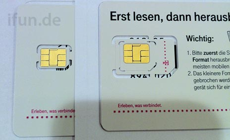 Images of TMobile Germanys supposed nanoSIM cards for next iPhone leak out  The Verge
