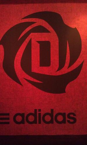 Derrick Rose Unveils New Signature Shoes. Logo. Apparel Line At Adidas Event - SB Nation Chicago