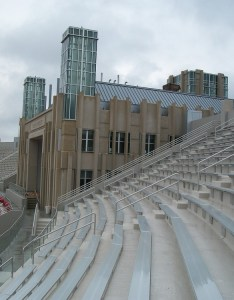 While memorial stadium has never been  great homefield advantage for iu it   always good place to watch game also close up look at expanded the crimson quarry rh crimsonquarry