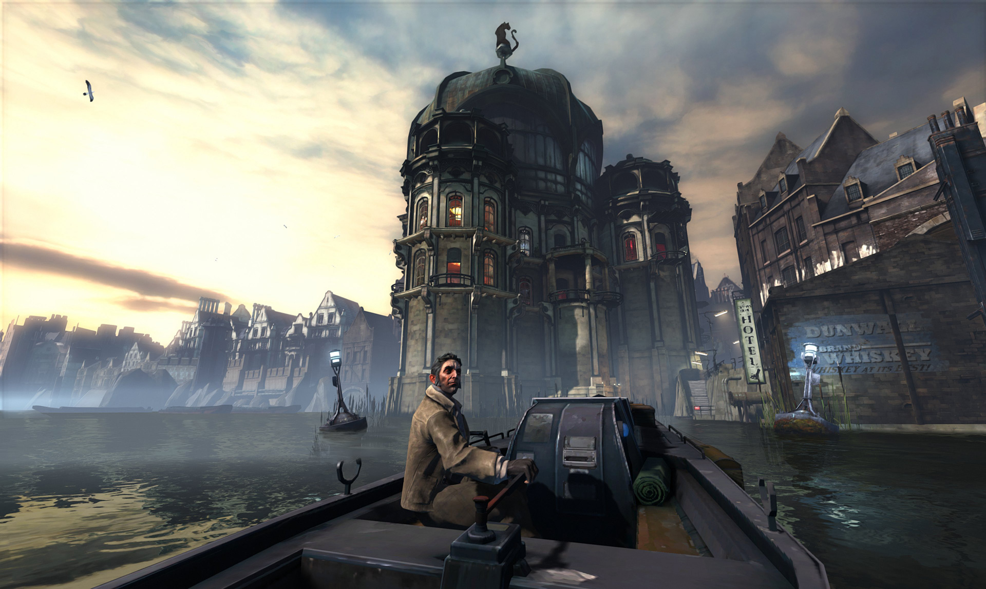 dishonored review crime and