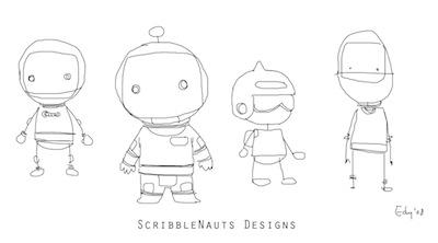 Scribblenauts concept art