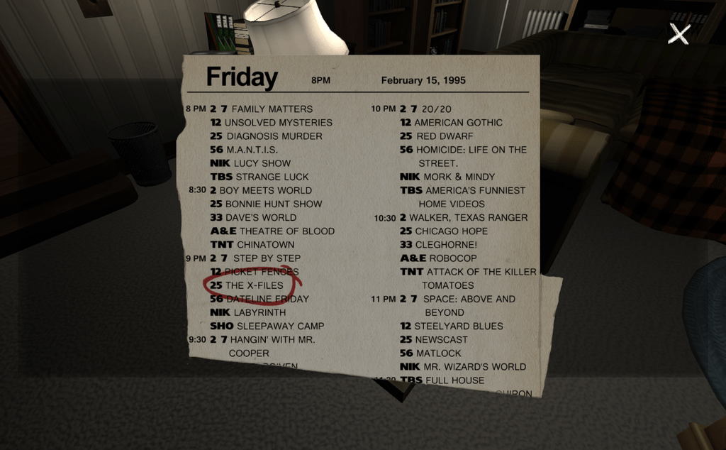 Image result for Gone Home