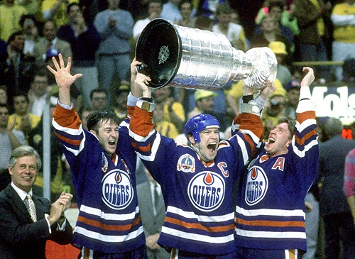 May 18 1990 Jari Kurri Turns 30 In Style The Copper Amp Blue