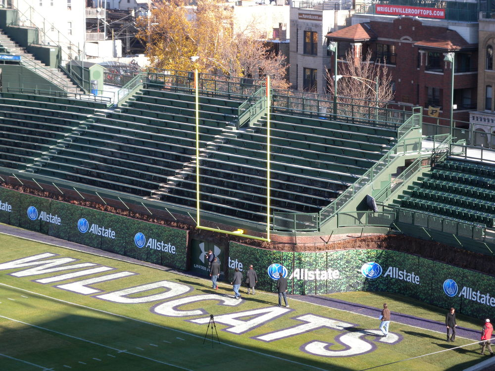 Are You Ready For Some Football Wrigley Field Is  Bleed