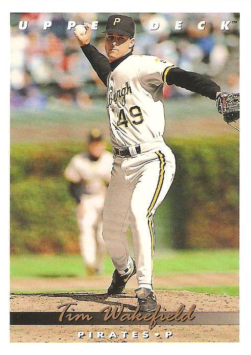 1993 Upper Deck Baseball Card Reference