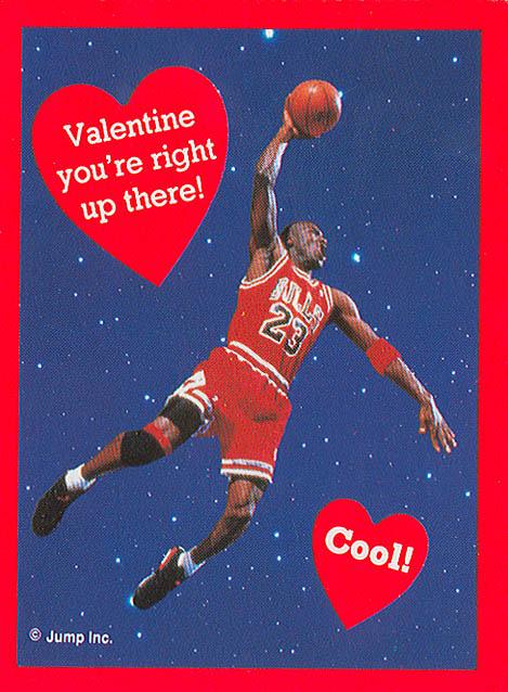 Michael Jordan Would Like To Wish You A Happy Valentines Day  SBNationcom