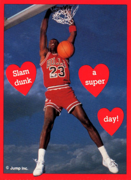 Michael Jordan Would Like To Wish You A Happy Valentine's