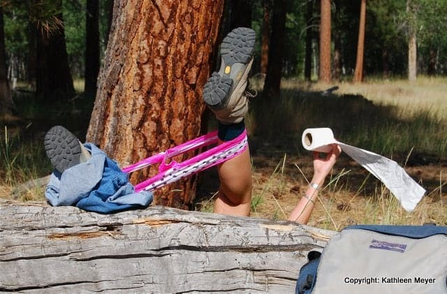 UhOh by Kathleen Meyer  Section Hikers Backpacking Blog