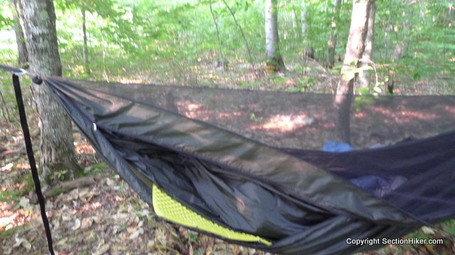 Review of Warbonnet Blackbird Double Layer Hammock w Superfly Tarp  Section Hikers Backpacking