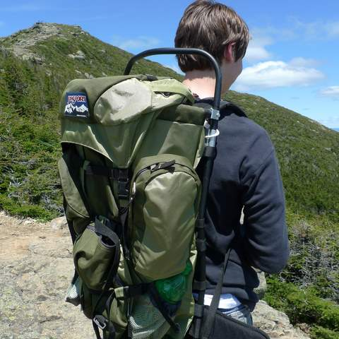 What is an External Frame Backpack  Section Hikers