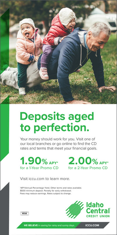 Idaho Central Credit Union (ICCU) $100 Checking Bonus [ID]