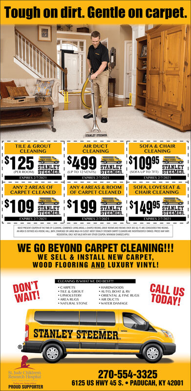 stanley steemer carpet cleaner