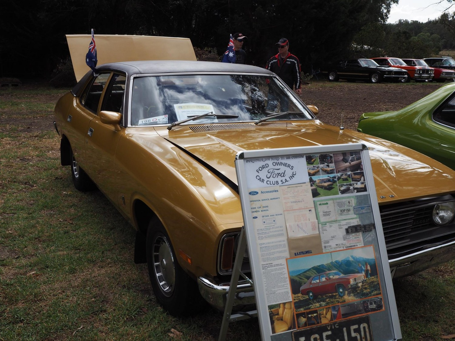 hight resolution of 1976 ford falcon 500 bss custom