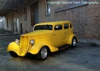 1933 Ford Hot Rod 4 door ALL STEEL SEDAN  Groova  Shannons Club