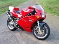 1992 Ducati 851cc STRADA (SOLO SEAT)