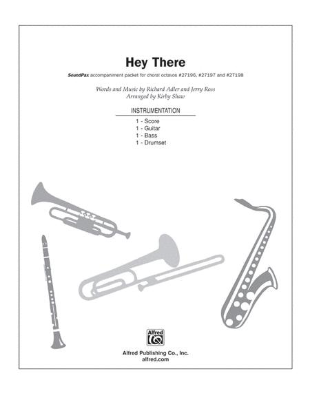 Sheet music: Hey There (from The Pajama Game) (Choral)
