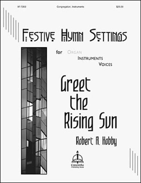 Sheet music: Festive Hymn Settings for Organ, Instruments