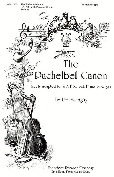 Partition : Johann Pachelbel: Canon In D (SATB)