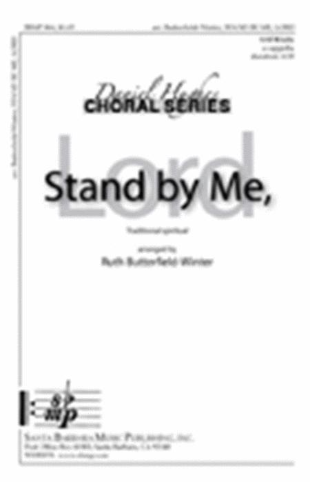 Sheet music: Stand by Me (SATB A Cappella)
