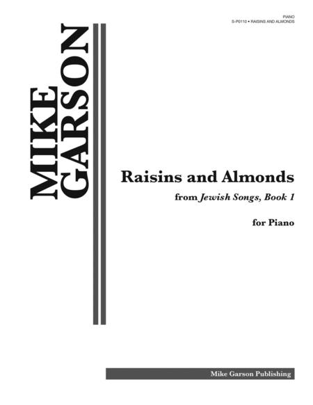 Sheet music: Raisins and Almonds (Piano solo)