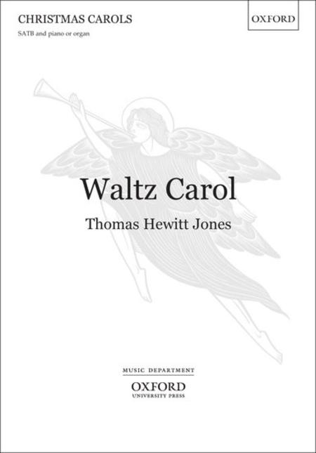 Sheet music: Waltz Carol (SATB, Piano)