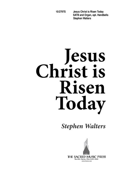 Buy Sheet Music Easter Bells Jesus Christ Is Risen Today