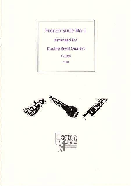 Sheet music: French Suite No 1